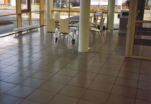 concrete tile floor